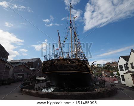 Ss Great Britain Ship In Bristol