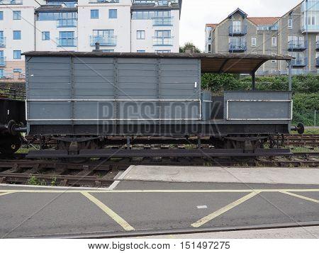 Bristol Harbour Old Trains In Bristol