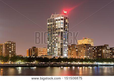 W Hotel In Jersey City