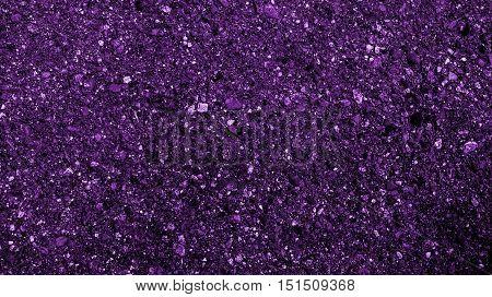Asphalt, asphalt texture, scabrous asphalt background, asphalt pattern, abstract background, coloured asphalt background, abstract pattern, violet abstraction, grunge background