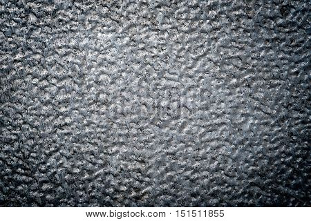 Rough and dark steel texture or background.