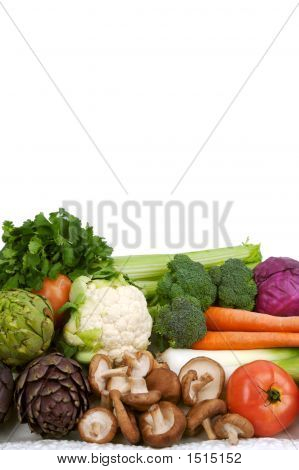 Pile Of Raw Vegetables