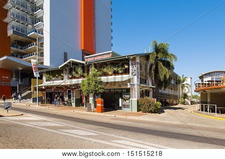 Shops And Buildings Darwin