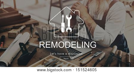 Exterior Design Project Remodeling Old Man Concept