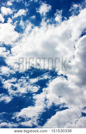sky and clouds as a beautiful skyscape