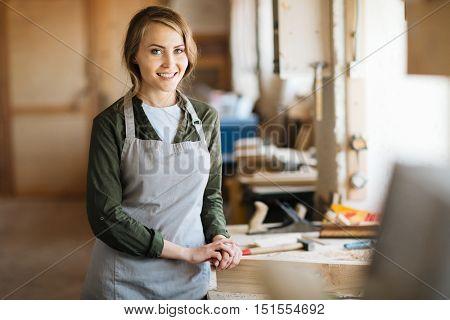 Pretty woodworker