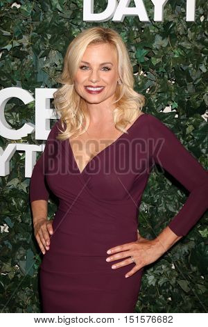 LOS ANGELES - OCT 10:  Jessica Collins at the CBS Daytime #1 for 30 Years Exhibit Reception at the Paley Center For Media on October 10, 2016 in Beverly Hills, CA