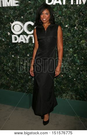 LOS ANGELES - OCT 10:  Karla Mosley at the CBS Daytime #1 for 30 Years Exhibit Reception at the Paley Center For Media on October 10, 2016 in Beverly Hills, CA