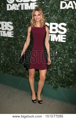 LOS ANGELES - OCT 10:  Kelly Kruger at the CBS Daytime #1 for 30 Years Exhibit Reception at the Paley Center For Media on October 10, 2016 in Beverly Hills, CA