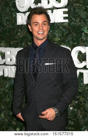 LOS ANGELES - OCT 10:  Darin Brooks at the CBS Daytime #1 for 30 Years Exhibit Reception at the Paley Center For Media on October 10, 2016 in Beverly Hills, CA