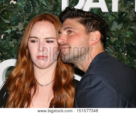 LOS ANGELES - OCT 10:  Camryn Grimes, Robert Adamson at the CBS Daytime #1 for 30 Years Exhibit Reception at the Paley Center For Media on October 10, 2016 in Beverly Hills, CA