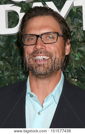 LOS ANGELES - OCT 10:  Joshua Morrow at the CBS Daytime #1 for 30 Years Exhibit Reception at the Paley Center For Media on October 10, 2016 in Beverly Hills, CA