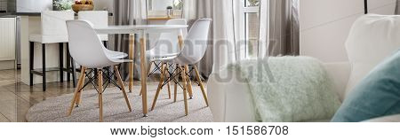 Home With Dining Table