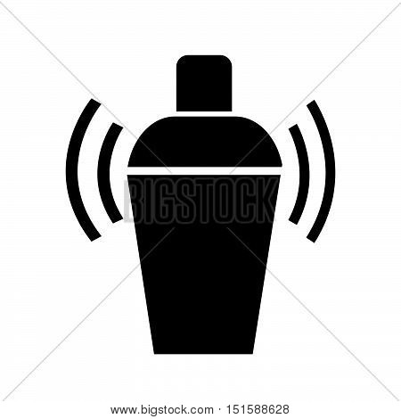an images of Cocktail Shaker icon illustration design