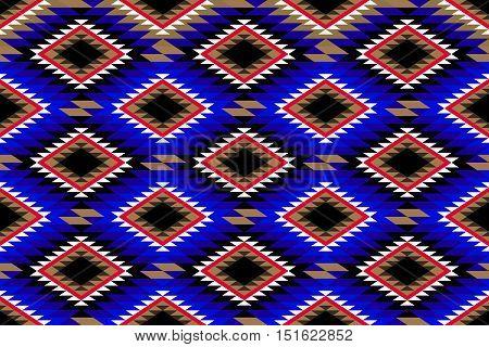 Traditional Rustic Rug Motif Pattern Fabric Design