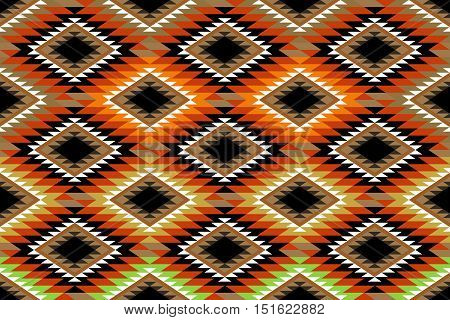 A Traditional Style Rustic Rug Pattern Texture