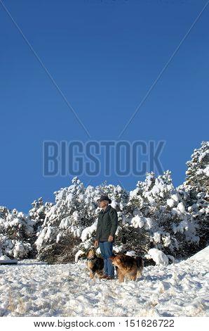 New Mexico Winter Vista