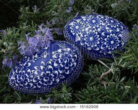 Two Blue Eggs