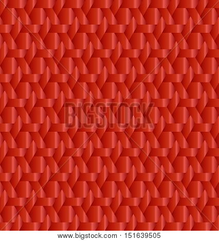 Abstract red metallic decorative background for any design process