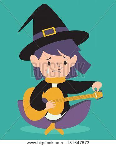 Sad Witch Tuning Guitar