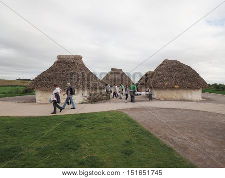 Stonehenge Neolithic Houses In Amesbury
