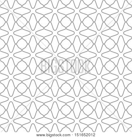 Seamless geometric patterns. Grey and white texture for your design. Web page background. Monochrome geometric ornaments. Vector seamless illustration