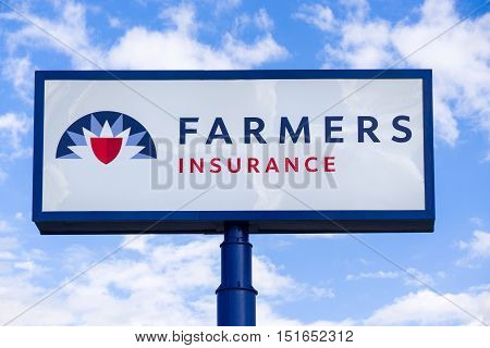 Farmers Insurance Sign And Logo