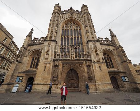 Bath Abbey In Bath