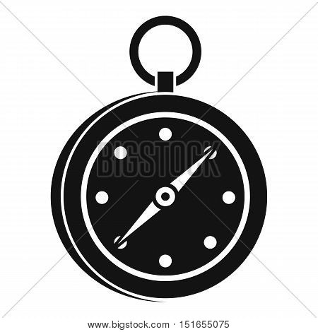 Compass icon. Simple illustration of compass vector icon for web