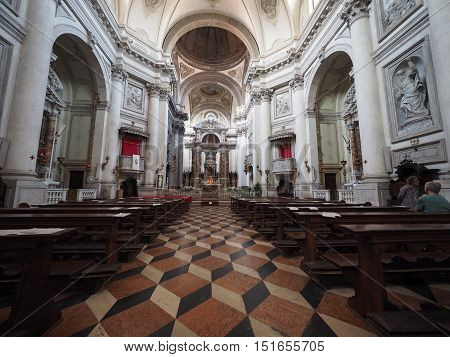 I Gesuati Church In Venice