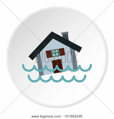 Flood icon. Flat illustration of flood vector icon for web