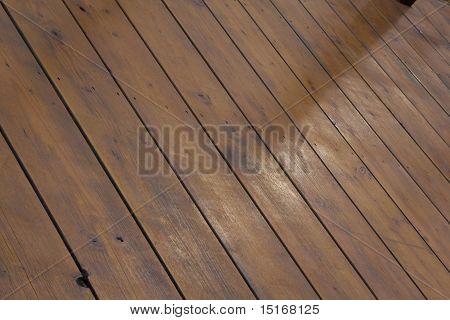 Background Of Wooden Decking