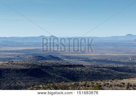 Mountain View In Mountain Zebra National Park