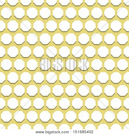 Geometric fine abstract vector octagonal background. Seamless modern pattern