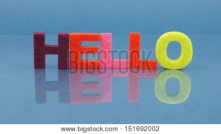 Hello word with reflection