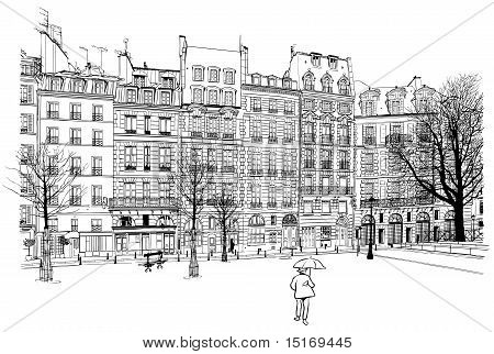 Paris - Place Dauphine