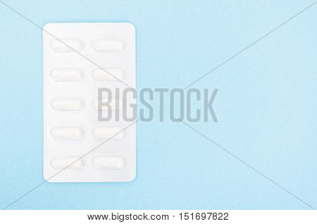Pills Os Capsules In Blister Pack