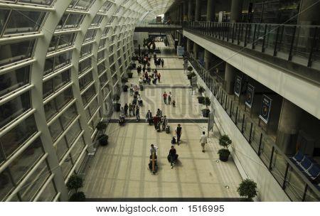 Hong Kong Airport Interior