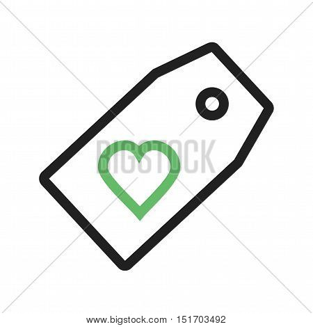 Favorite, tag, web icon vector image. Can also be used for user interface. Suitable for mobile apps, web apps and print media.