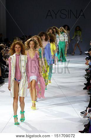 39Th Ukrainian Fashion Week In Kiev