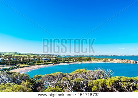 Dramatic view at Horseshoe Bay Port Elliot South Australia