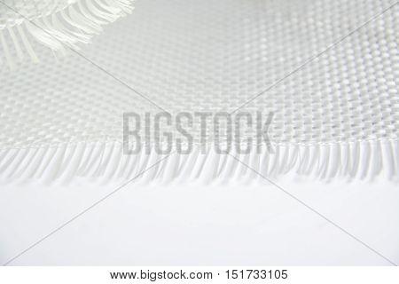 Glass Fiber Composite Raw Material Background