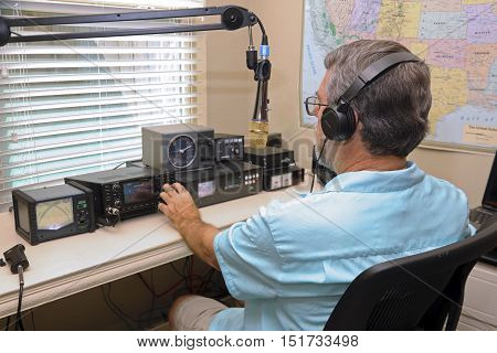 Ham radio operators are used in emergency situations to provide communications when phone lines, cell phone towers are down and power is out!,at times you can communicate with the space station!