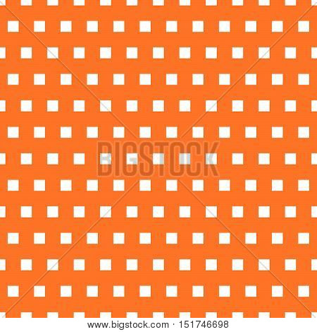 Basic Repeatable White Plus One Color Pattern. Simple Geometric Pattern For Backgrounds.