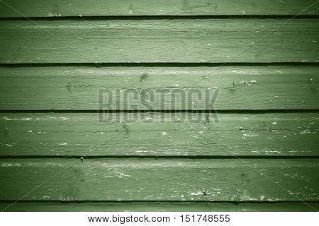 old wooden boards bright green color texture and background