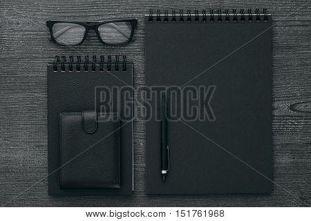 Dark Business Desktop
