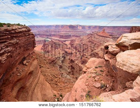 Dead Horses state park near the Canyonlands Narional Park in Utah, USA