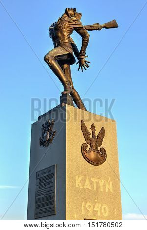 Katyn Massacre Memorial - Jersey City