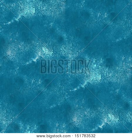 paint blue abstract water sea waves watercolor seamless texture hand painted background art