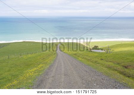 Coastal View, Road To Tunkalilla Beach, Fleurieu Peninsula, Sa